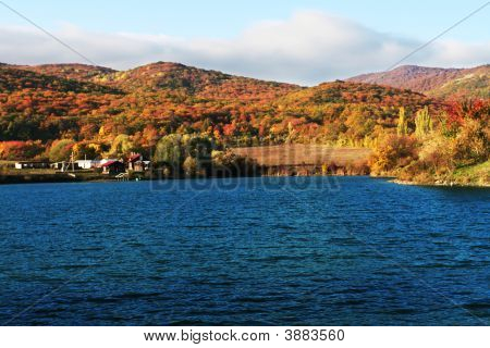 Autumn On Lake