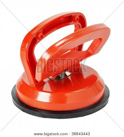 A Suction cup tool. Used for lifting window glass, tile and to pull out dents in cars etc.