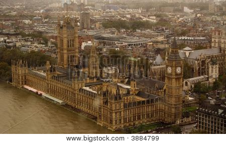 Westminster From London Eye