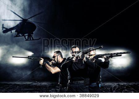 besondere Taktik-team