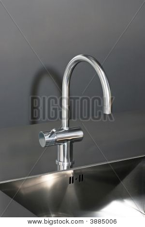 Faucet Silver