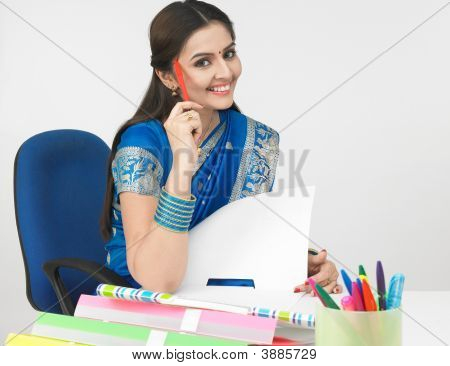Female Executive Of Indian Origin