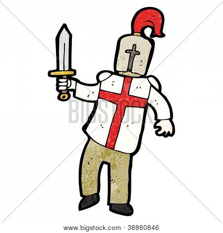 cartoon english knight