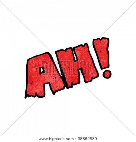 AH! cartoon symbol