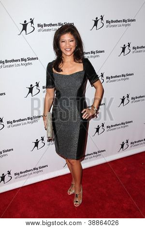 LOS ANGELES - OCT 26:  Julie Chen arrives at the Big Brothers Big Sisters of Greater Los Angeles 2012 Rising Stars Gala at Beverly Hilton on October 26, 2012 in Beverly Hills, CA