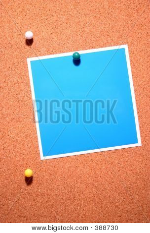 Corkboard Note Thumbtacks