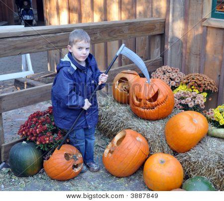 The Pumpkin Reaper