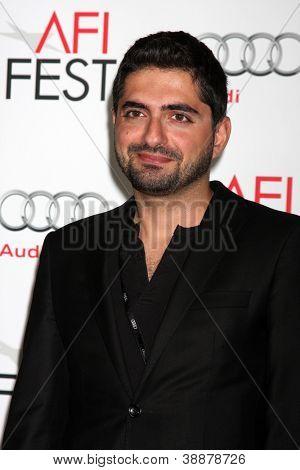 LOS ANGELES - NOV 2:  Umut Dag arrives at the AFI Film Festival 2012