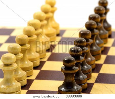 Formation from pawn