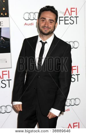 LOS ANGELES - NOV 4:  Juan Antonio Bayona arrives at the AFI Film Festival 2012