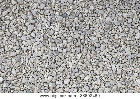 Details of gravels for construction