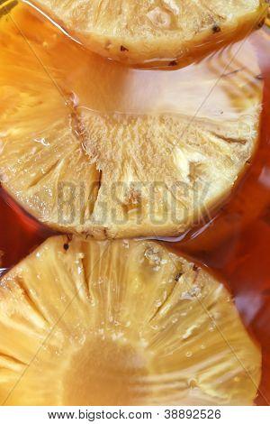 A Brazilian pinga made of Pineapple.