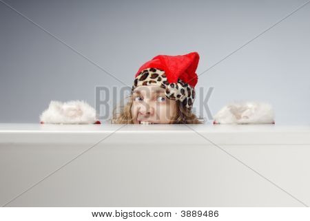 Affraid Hidden Santa