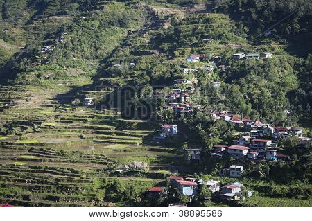 Banaue Berg Stadt Luzon Philippinen
