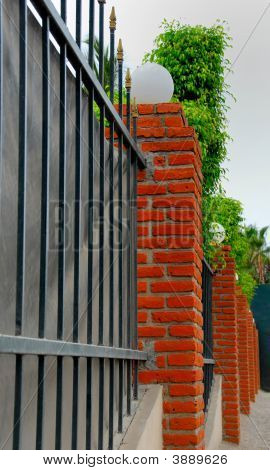 Bricks Fence