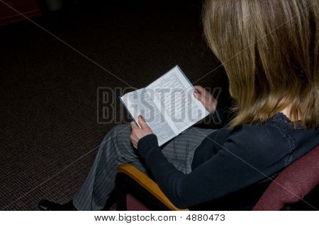 Woman Reading  A Siddur