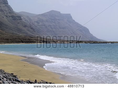 Famara Cliffs On Lanzarote