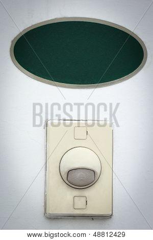 Close Up Doorbell