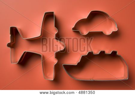 Airplane Shaped Cookie Cutters