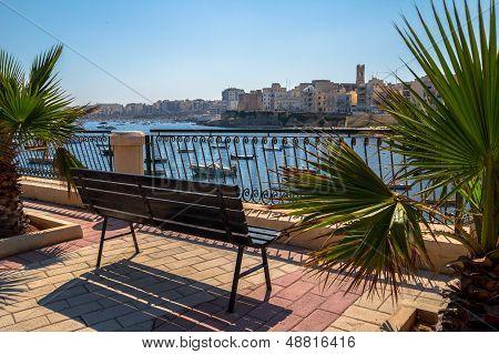 Bench at the Bay