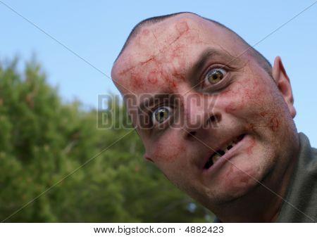 Zombie hombre