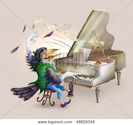 Raven The Pianist