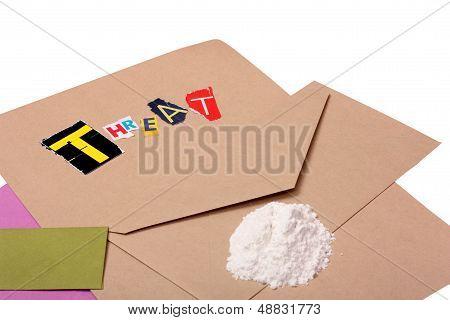Threatening Ricin Letter
