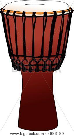 Djembe - tambor de percusión Tamtam