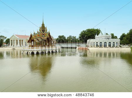 Thai Style Pavilion, Bang-pa-in Palace ,thailand