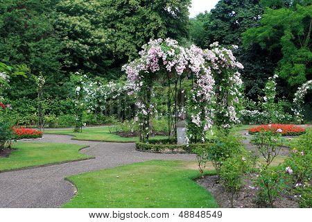 Rose Garden, Warwick castle