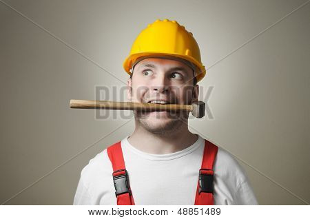 Insane Young Worker