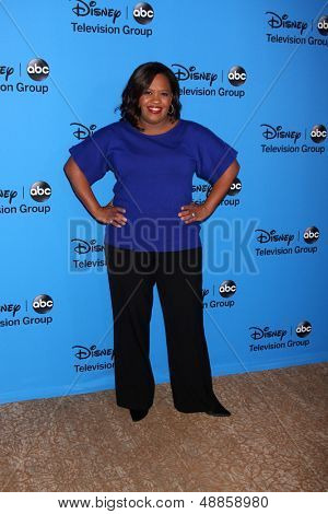 LOS ANGELES - AUG 4:  Chandra Wilson arrives at the ABC Summer 2013 TCA Party at the Beverly Hilton Hotel on August 4, 2013 in Beverly Hills, CA