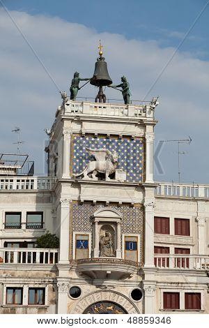 Venice Torre dell'Orologio - St Mark's clocktower.