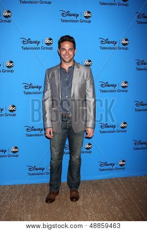 LOS ANGELES - AUG 4:  Brandon Barash arrives at the ABC Summer 2013 TCA Party at the Beverly Hilton Hotel on August 4, 2013 in Beverly Hills, CA