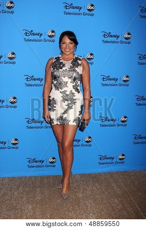 LOS ANGELES - AUG 4:  Sara Ramirez arrives at the ABC Summer 2013 TCA Party at the Beverly Hilton Hotel on August 4, 2013 in Beverly Hills, CA