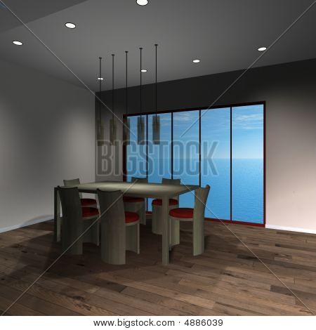 Modern House-diningroom