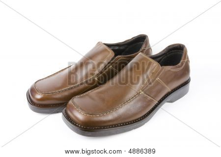 Isolated Dress Shoes