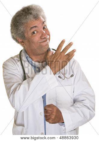 Threatening Doctor