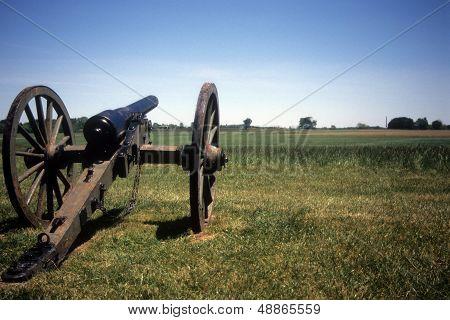 Napoleon, 12 Lb Cannon, Confederate Lines,