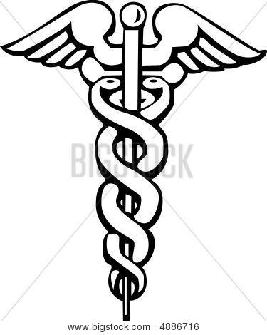 Caduceo, griego signo o símbolo