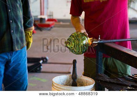 Glassblowing Men