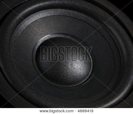 Black Speaker Close