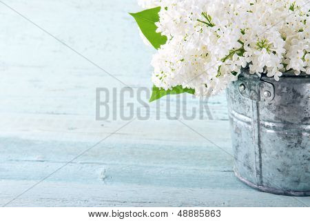 Bouquet Of White Lilacs
