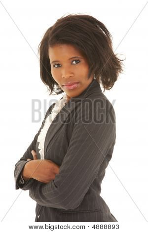 Sexy African Businesswoman