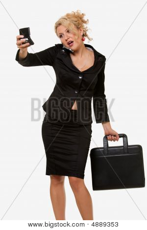 Busy Woman