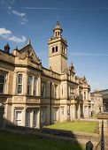 picture of magistrate  - front elevation of the victorian gothic styled halifax magistrates court - JPG