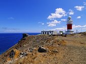 Lighthouse On Punta Del Faro On La Gomera