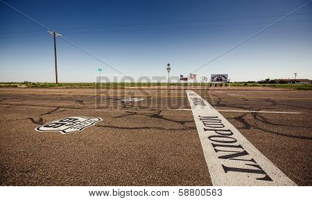 The midway point along Route 66