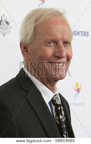 LOS ANGELES - JAN 11:  Paul Hogan at the  2014 G'Day USA Los Angeles Black Tie Gala at JW Marriott Hotel at L.A. LIVE on January 11, 2014 in Los Angeles, CA