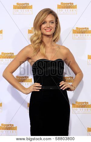 LOS ANGELES - JAN 14:  Kate Bock at the 50th Sports Illustrated Swimsuit Issue at Dolby Theatre on January 14, 2014 in Los Angeles, CA